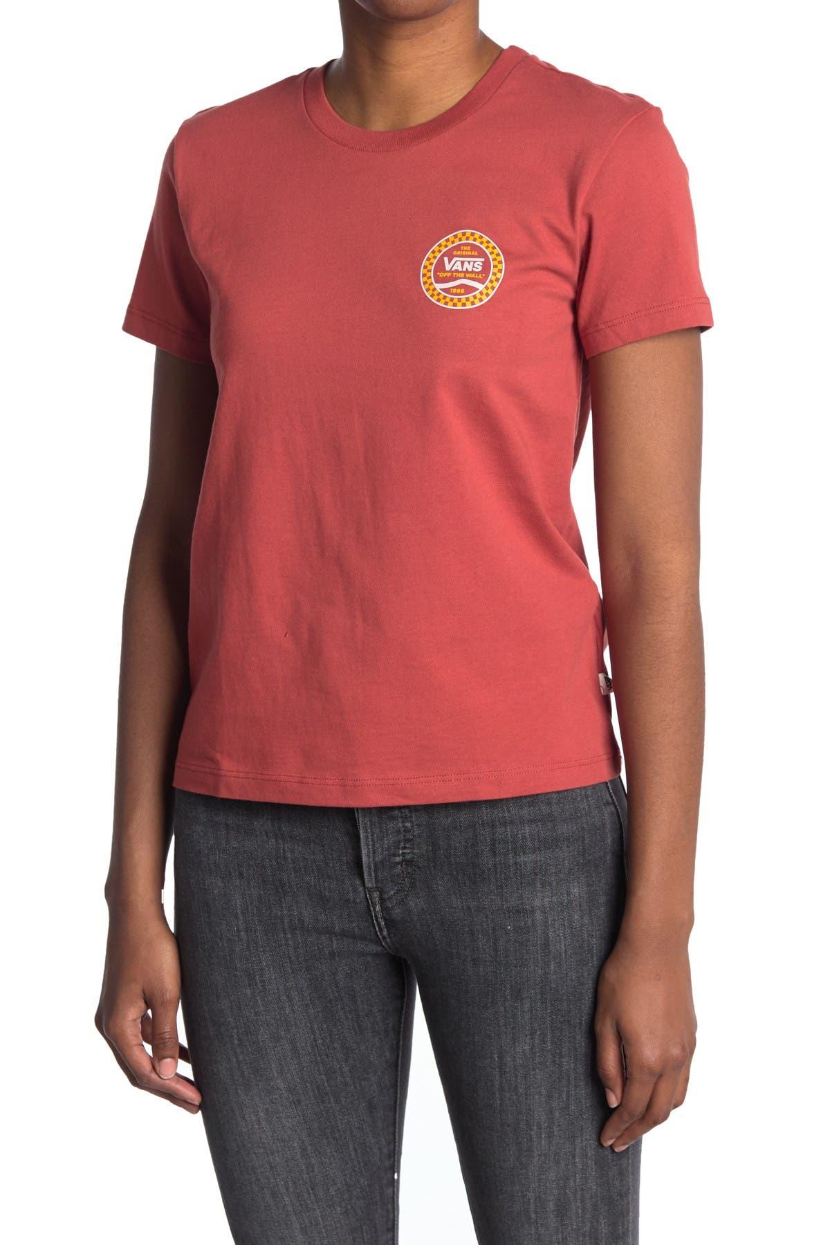 Image of VANS Short Sleeve Crew Neck T-Shirt