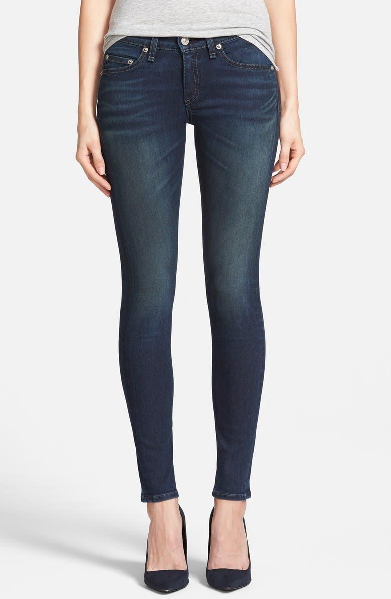 RAG & BONE/JEAN 'The Skinny' Jeans, Main, color, 402