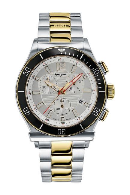 Image of Salvatore Ferragamo Men's Ferragamo1898 Sport Watch, 44mm