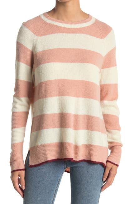 Image of Lush Stripe Print Knit Sweater