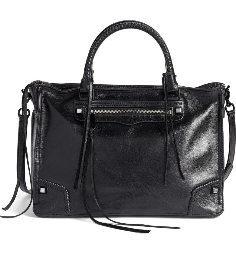 REBECCA MINKOFF Regan Satchel, Main, color, 001