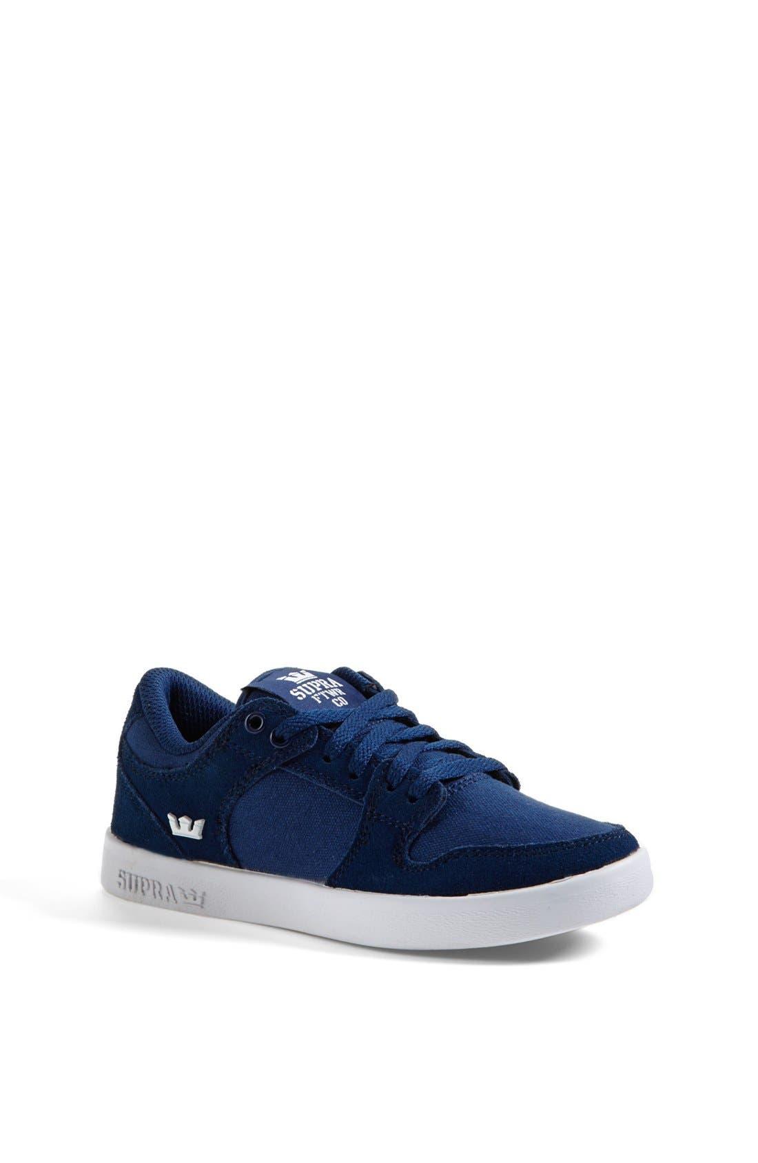 Supra 'Vaider' Low Top Sneaker (Toddler