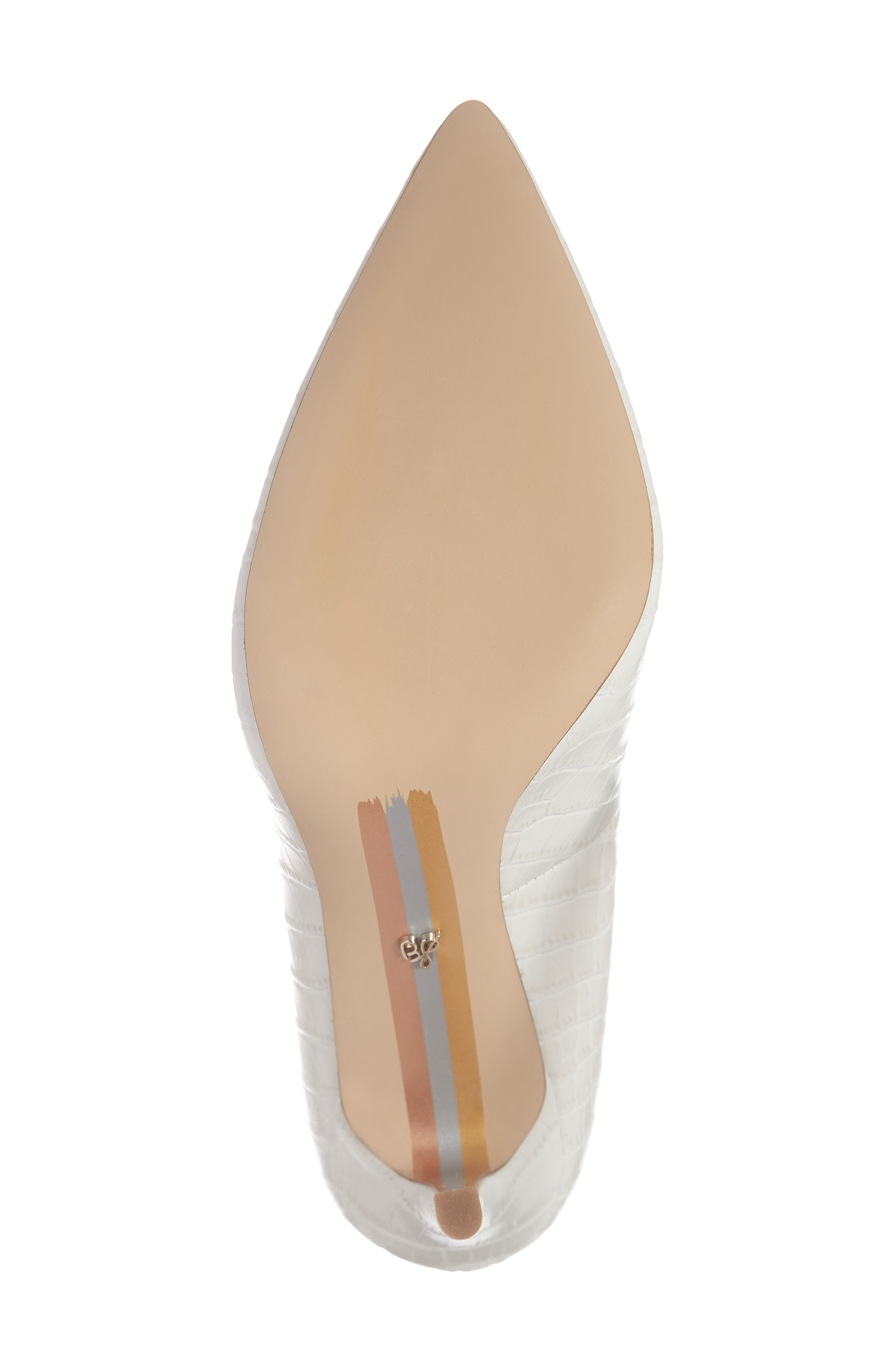 ,                             Hazel Pointy Toe Pump,                             Alternate thumbnail 6, color,                             MODERN IVORY LEATHER