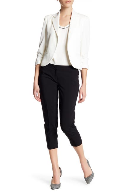 Image of Amanda & Chelsea Cotton Poly Cropped Pants