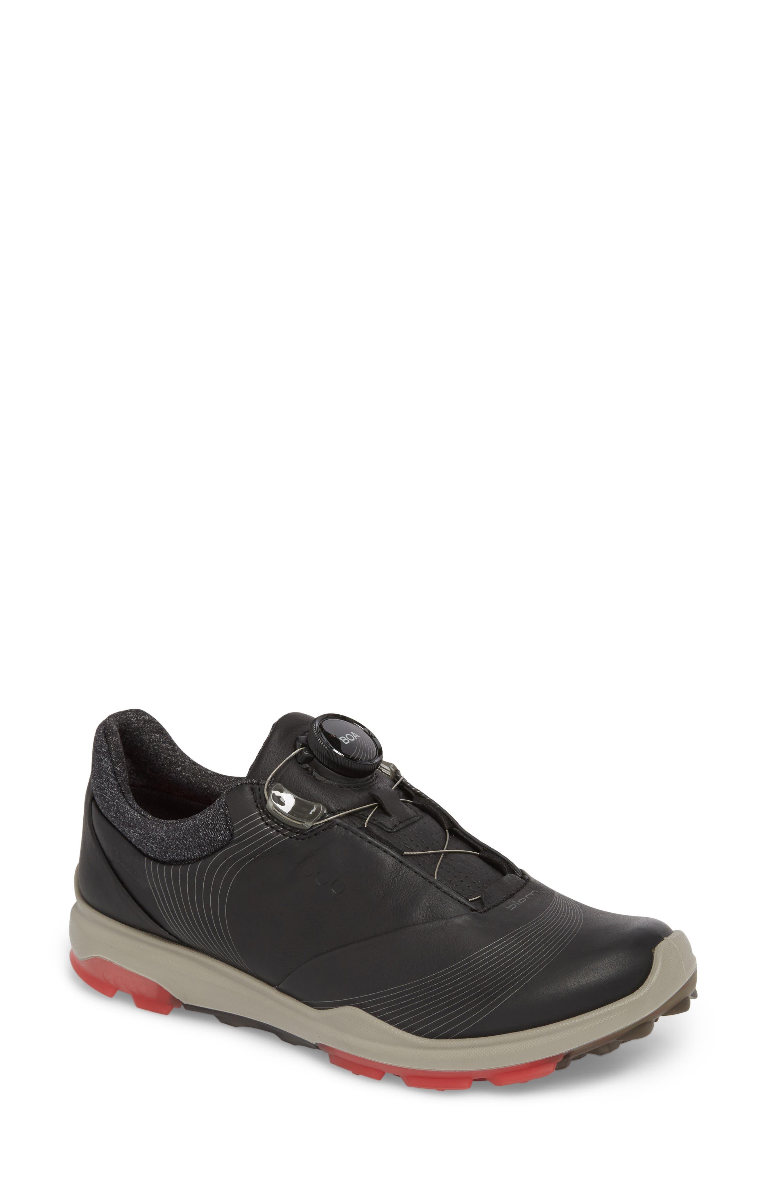 Ecco Golf Biom Hybrid 3 Sneaker, Black