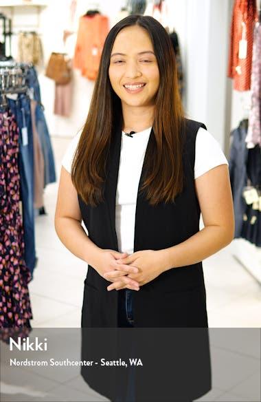 Flounce Sleeve Surplice Belted Midi Dress, sales video thumbnail