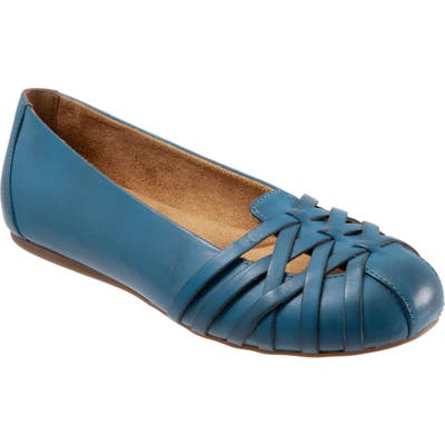 Softwalk St. Lucia Flat- Blue