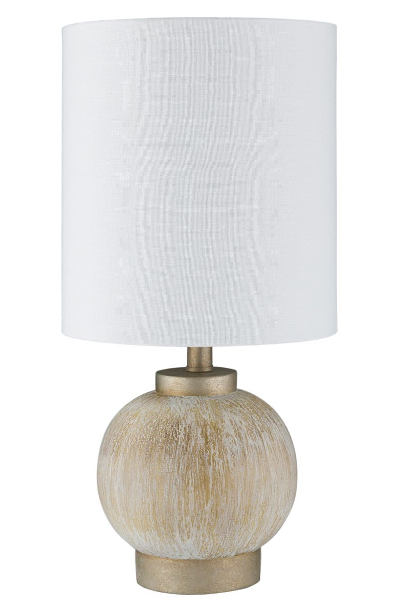 SURYA HOME Devlin Table Lamp, Main, color, IVORY/ WHITE/ TAN