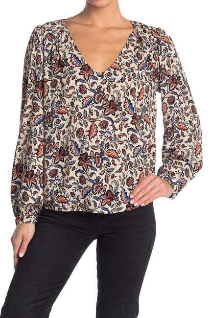 Image of Velvet by Graham & Spencer Carly Printed Top