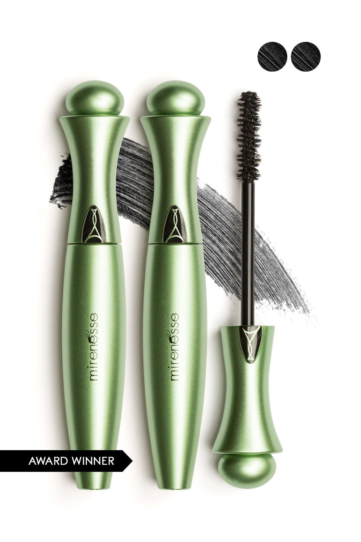 Image of Mirenesse Organic Secret Weapon 24-Hour Mascara - Black - Set of 2