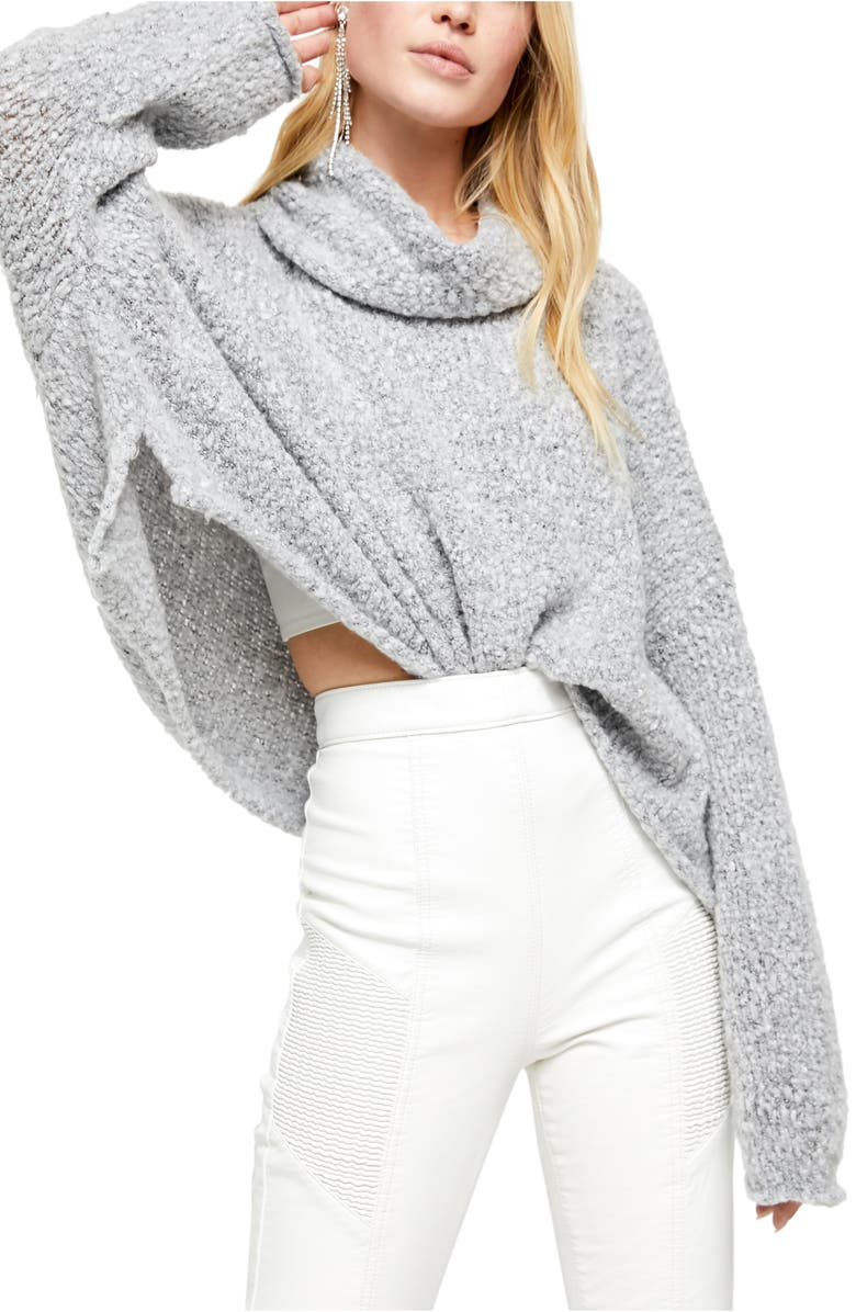 FREE PEOPLE BFF Cowl Neck Sweater, Main, color, 030