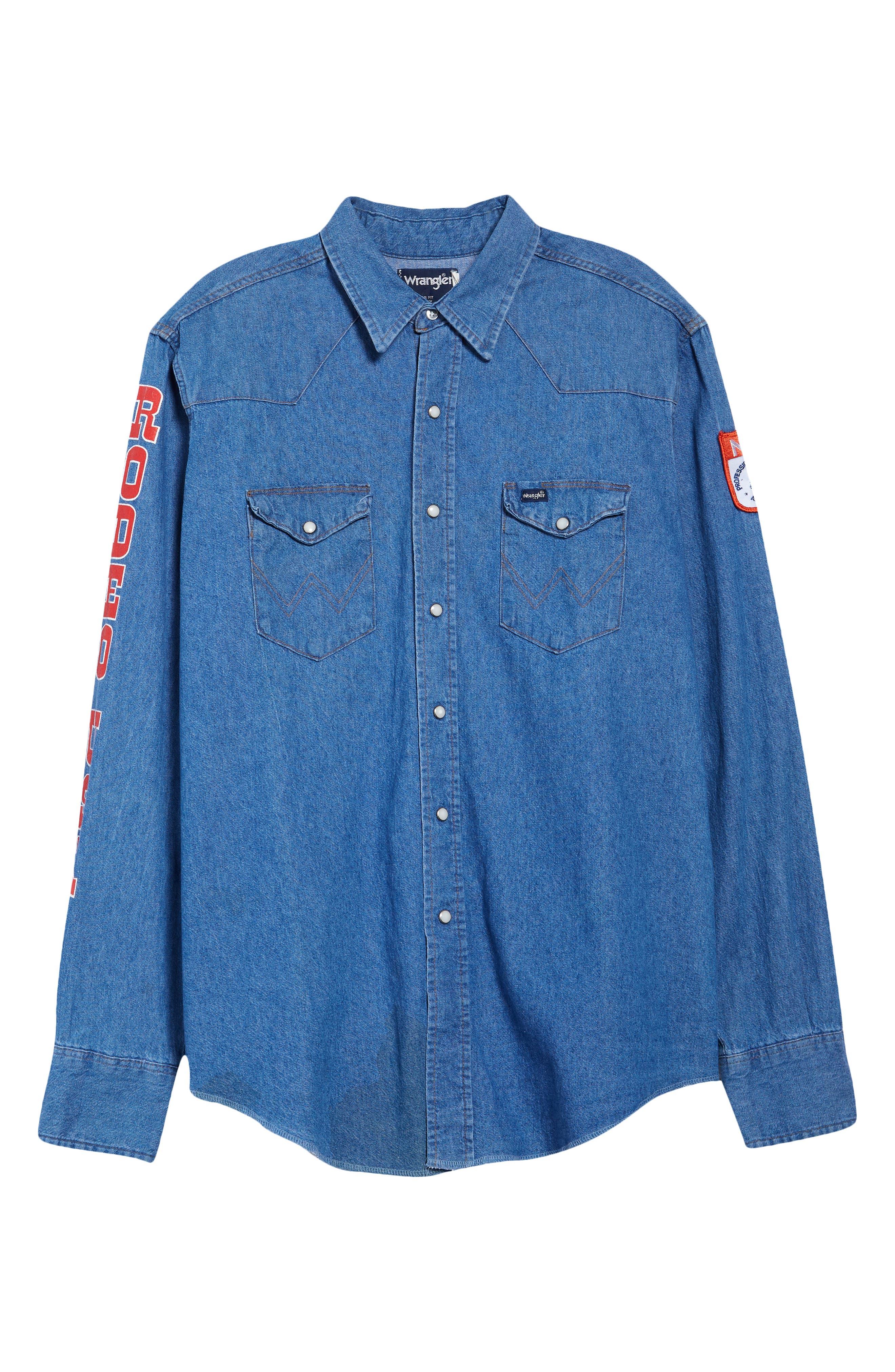 Unisex Vintage '94 Nfr Button-Down Shirt