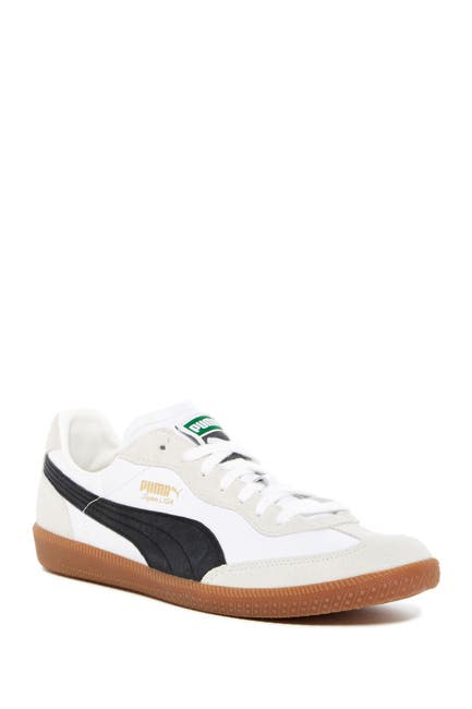 Image of PUMA Super Liga OG Retro Leather & Suede Sneaker