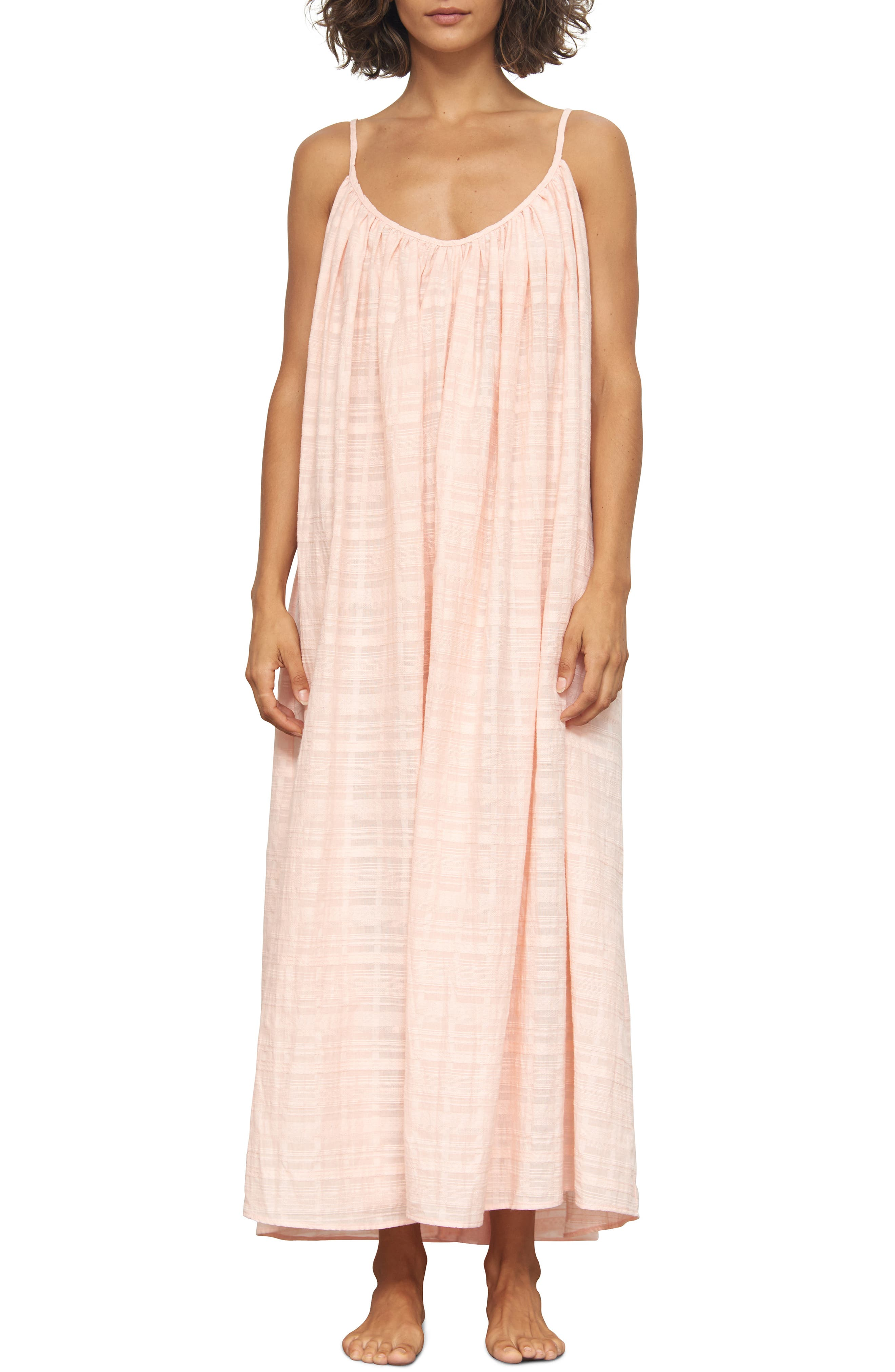 Mara Hoffman Fiona Cover-Up Dress, Pink