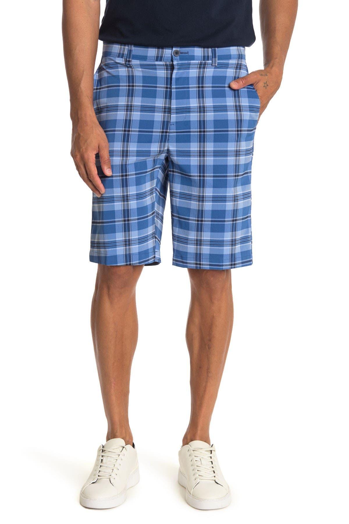 Image of Jack Nicklaus Plaid Printed Shorts