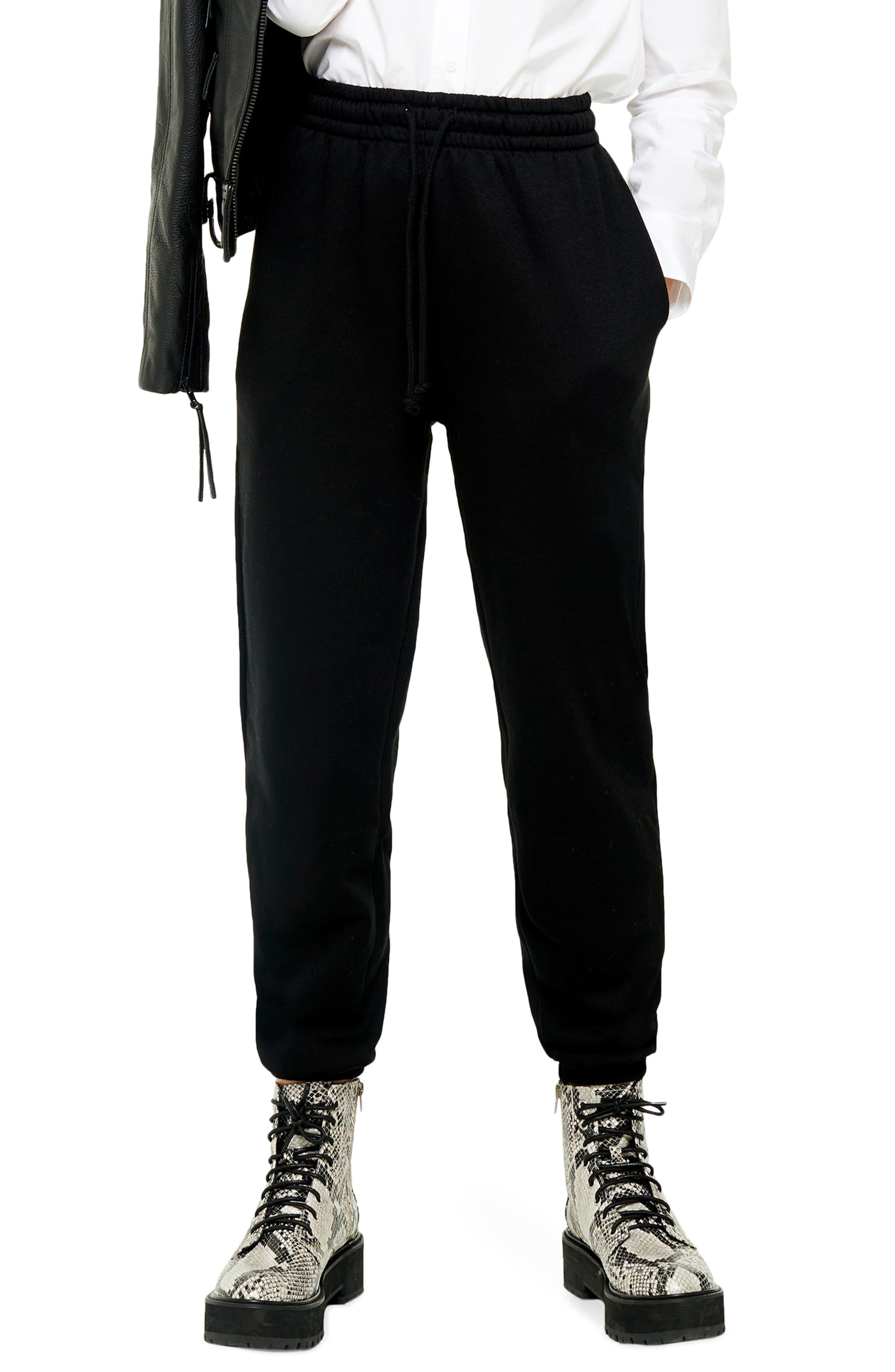 Women's Topshop High Waist Cotton Blend Sweatpants