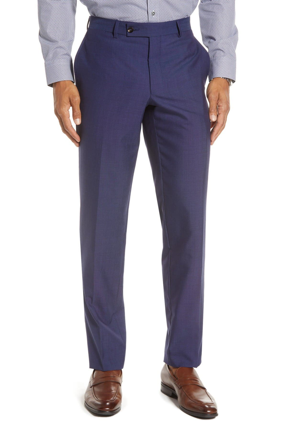 Image of Ted Baker London Jarrett Flat Front Trousers