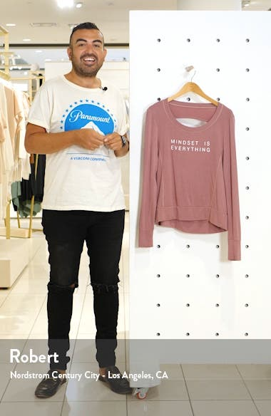 Jules Mindset Sweatshirt, sales video thumbnail