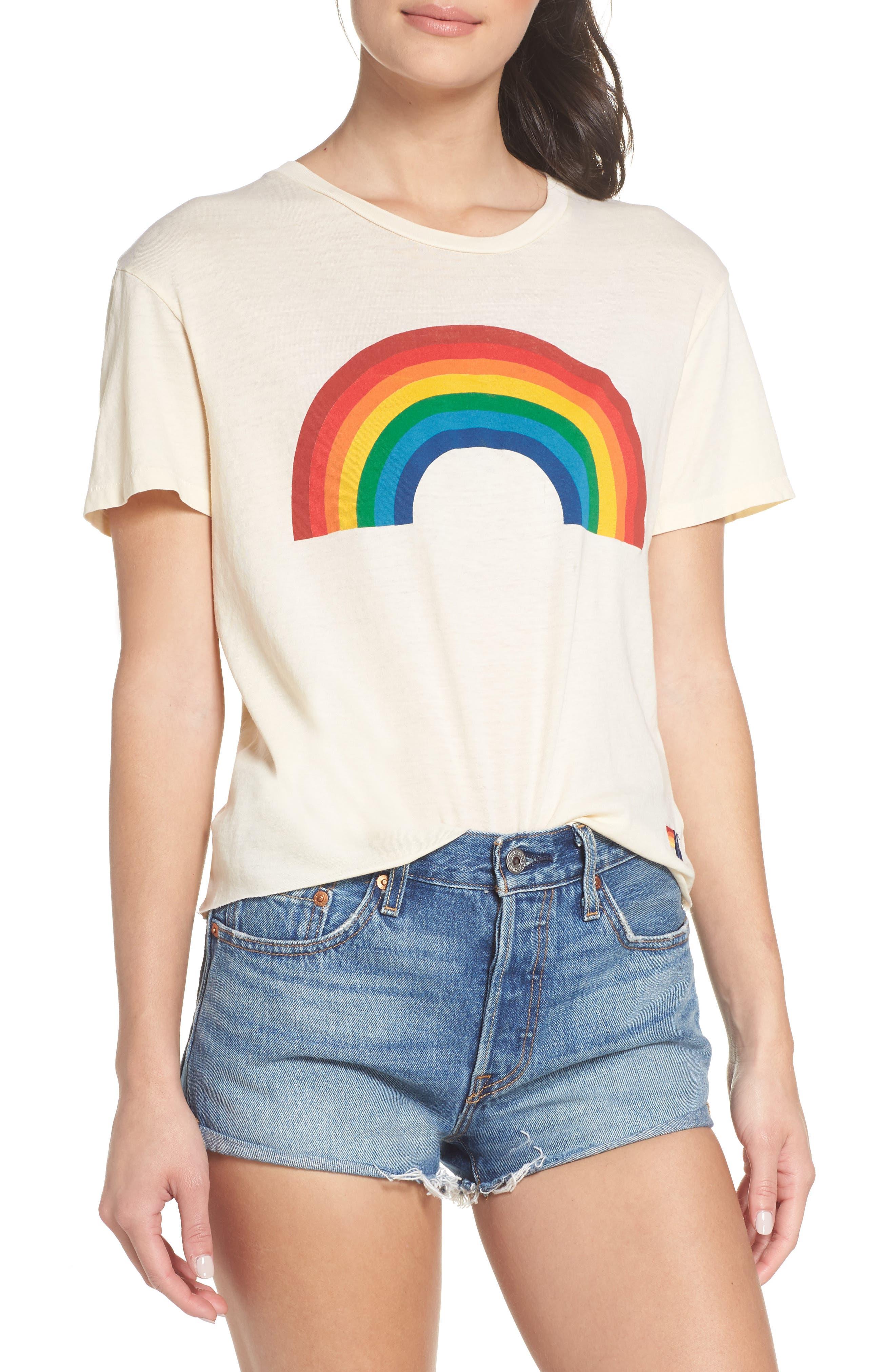 Big Rainbow Boyfriend Tee