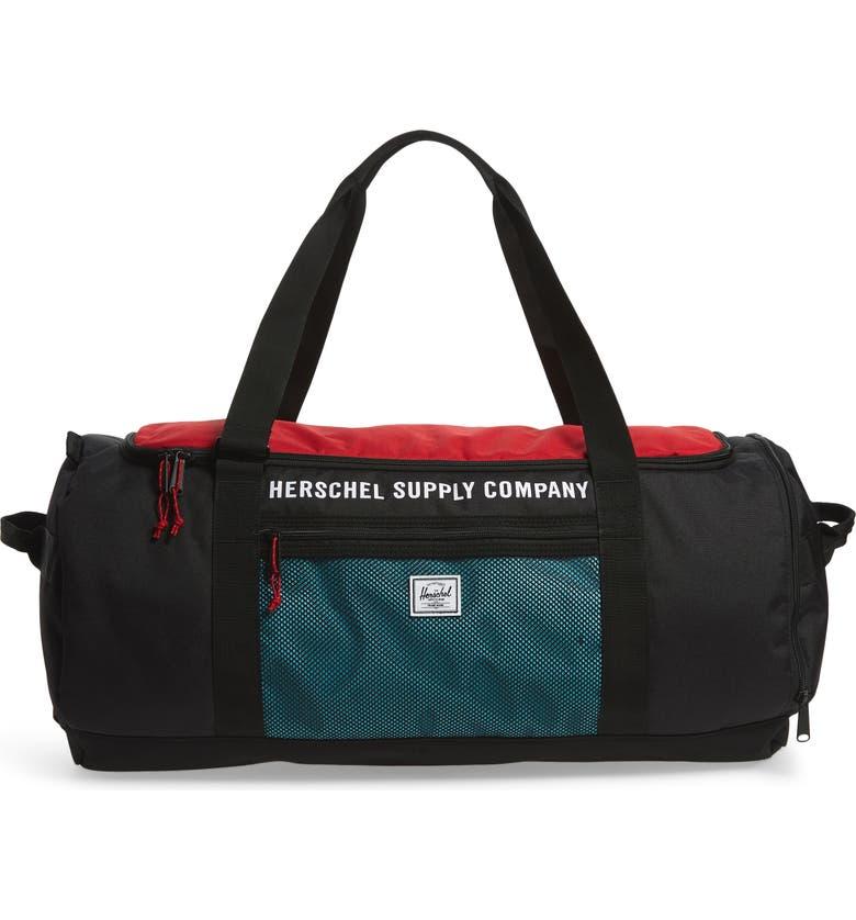 HERSCHEL SUPPLY CO. Sutton Duffle Bag, Main, color, 001