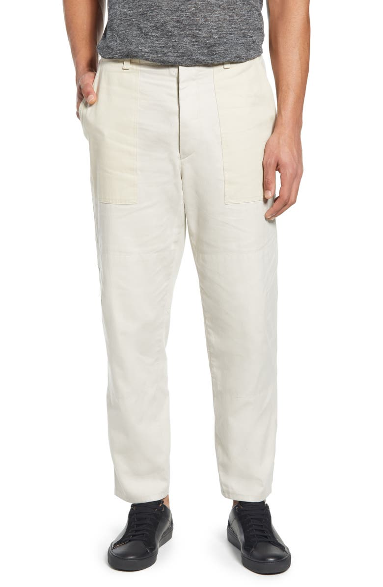 RAG & BONE Franklin Slim Fit Chino Pants, Main, color, WHITE