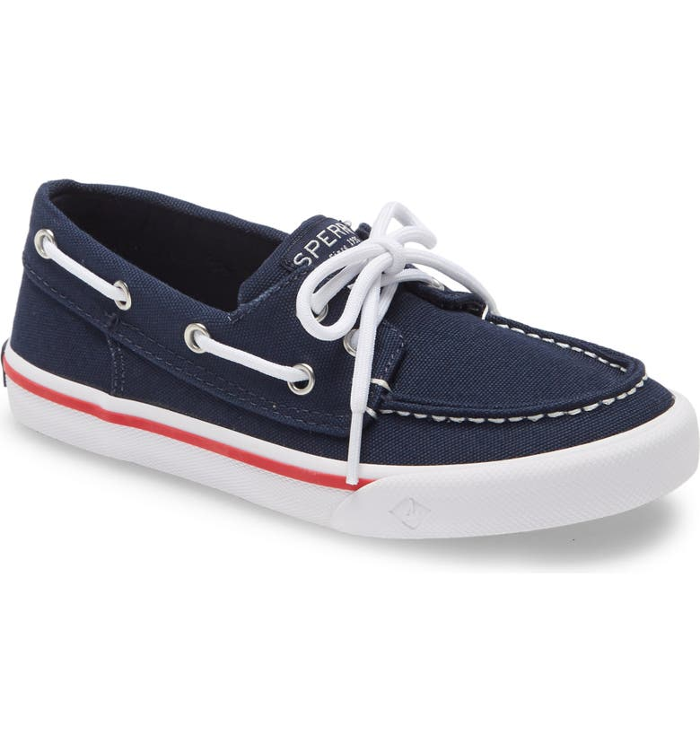SPERRY KIDS Sperry Bahama Boat Shoe, Main, color, NAVY
