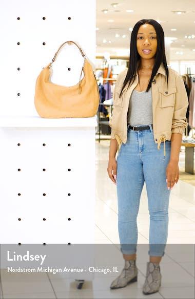 Michelle Nubuck Leather Hobo, sales video thumbnail