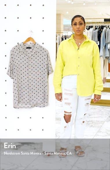 Amour Slim Fit Polka Dot Camp Shirt, sales video thumbnail
