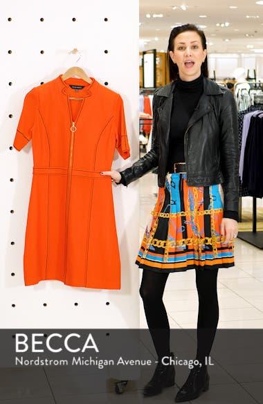 Textured Knit Sheath Dress, sales video thumbnail