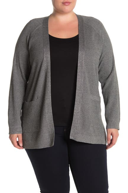 Image of Cyrus Thermal 2-Pocket Open Front Cardigan
