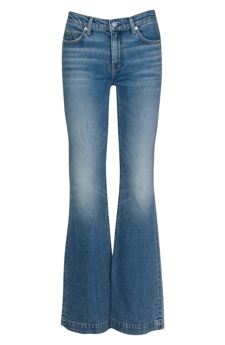7 FOR ALL MANKIND<SUP>®</SUP> Seven Dojo Flare Jeans, Main, color, ALPINE