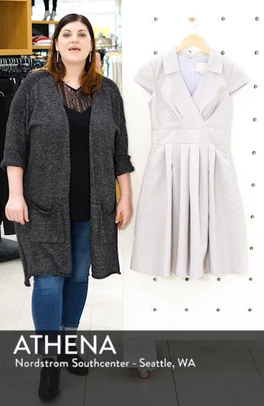 Pleated Party Dress, sales video thumbnail