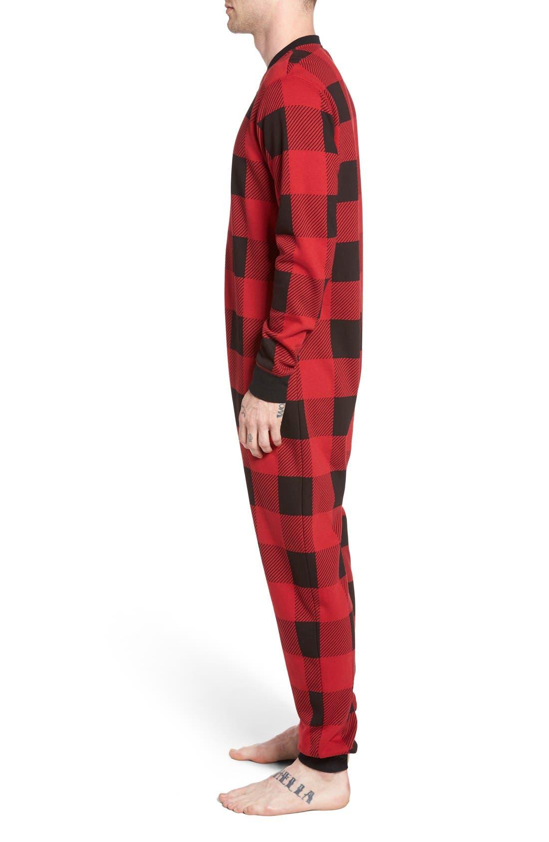 ,                             Fleece One-Piece Pajamas,                             Alternate thumbnail 39, color,                             601