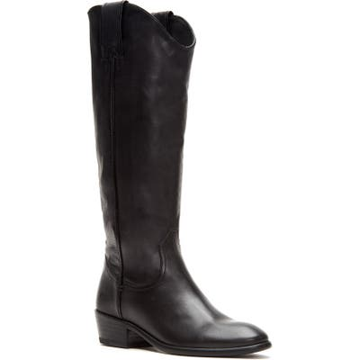 Frye Carson Knee High Boot- Black