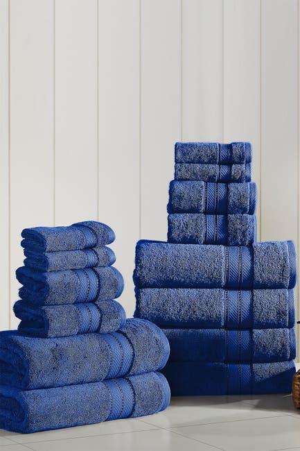 Image of Modern Threads SpunLoft 18-Piece Towel Set - Navy