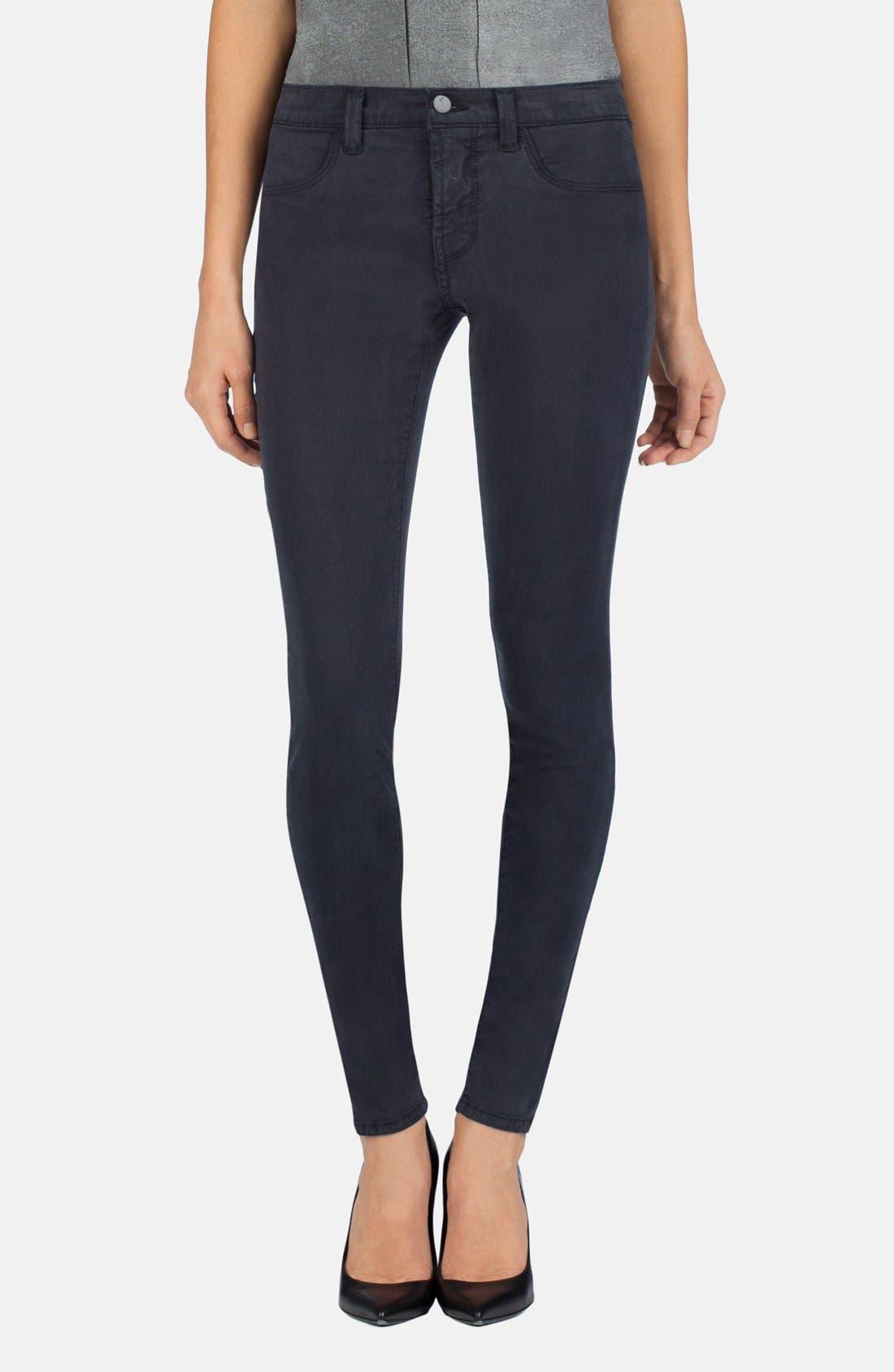 ,                             '485' Mid Rise Super Skinny Jeans,                             Main thumbnail 7, color,                             020