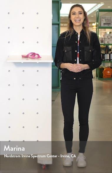 Kayla Metallic Sandal, sales video thumbnail