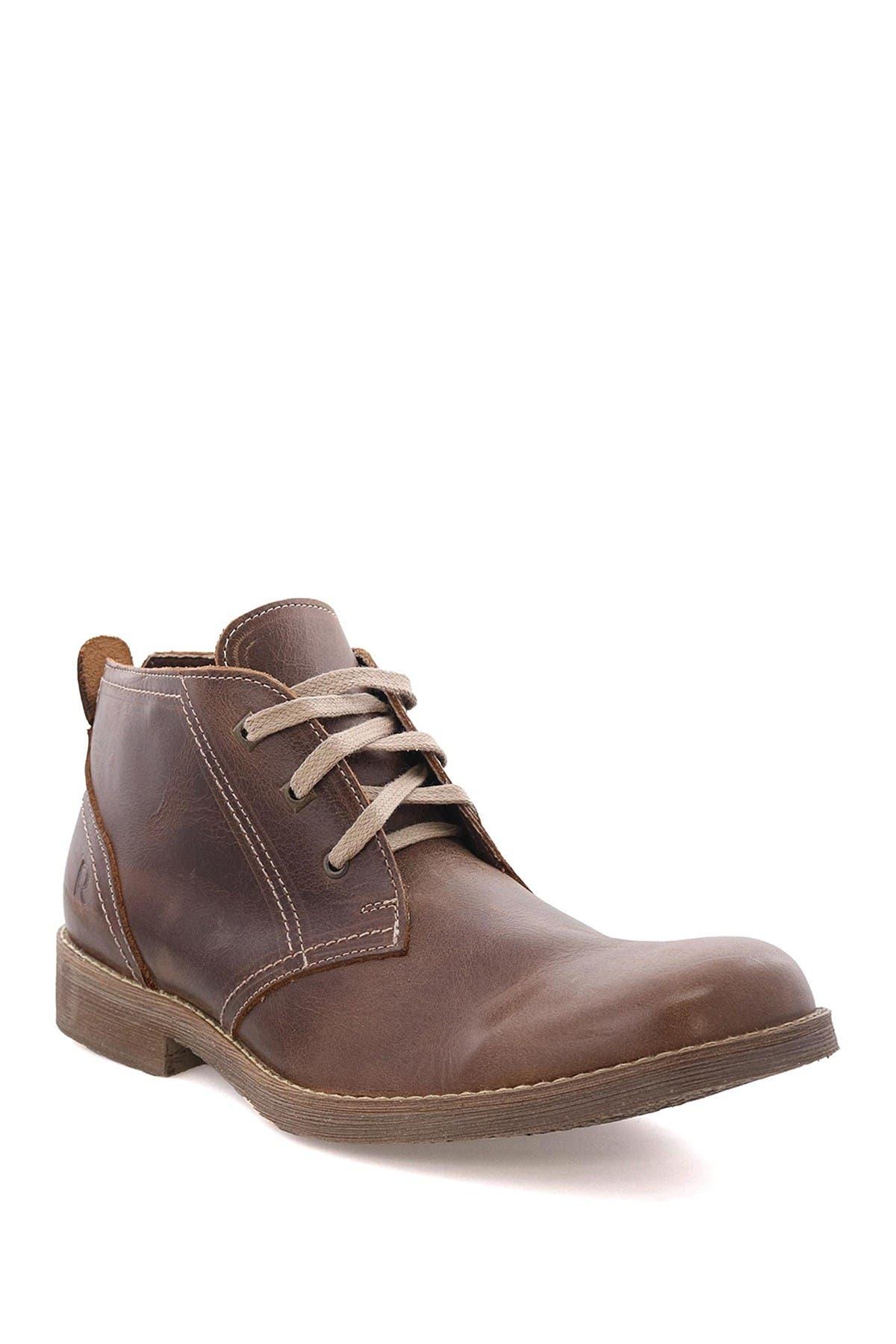 Image of Roan Gaven Leather Chukka Boot