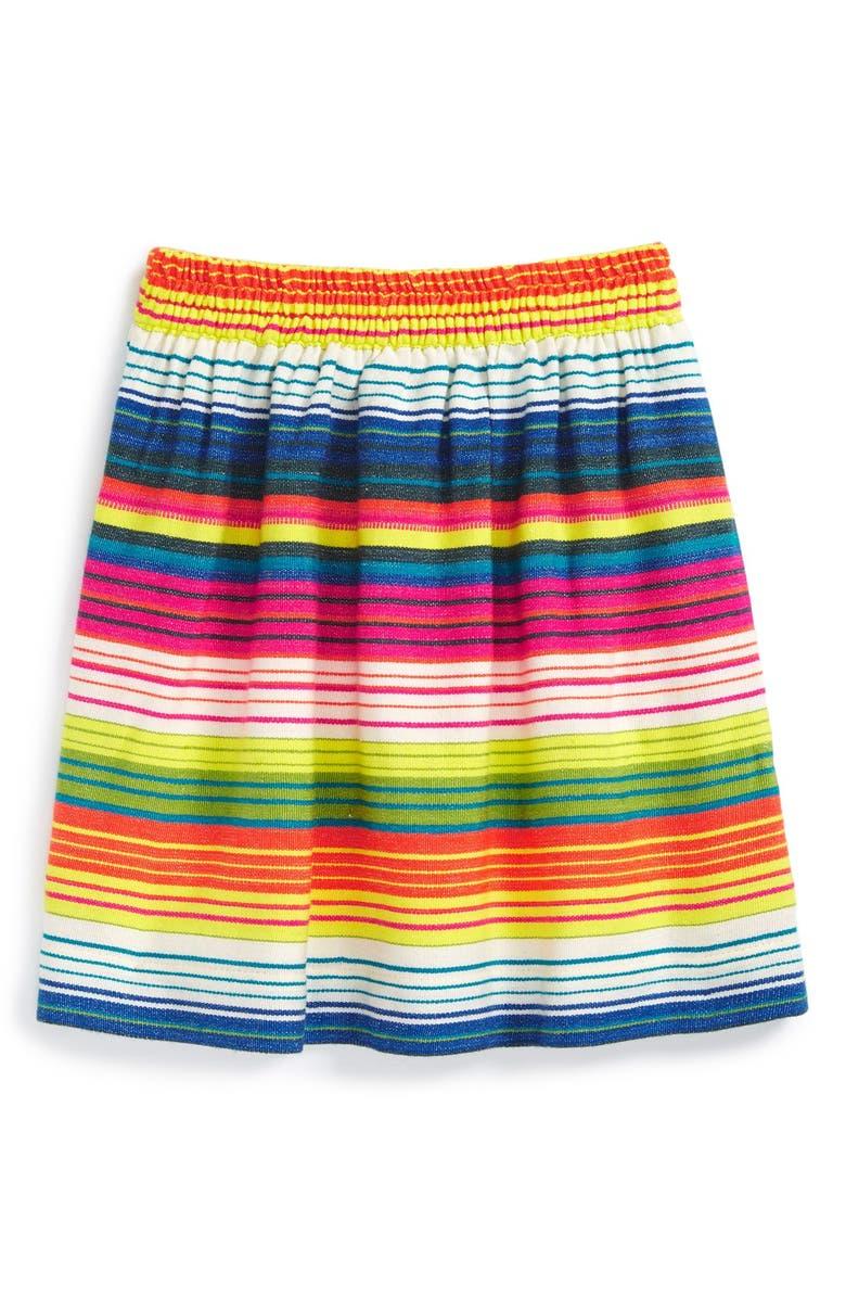 PEEK AREN'T YOU CURIOUS Peek 'Chica' Stripe Skirt, Main, color, 800