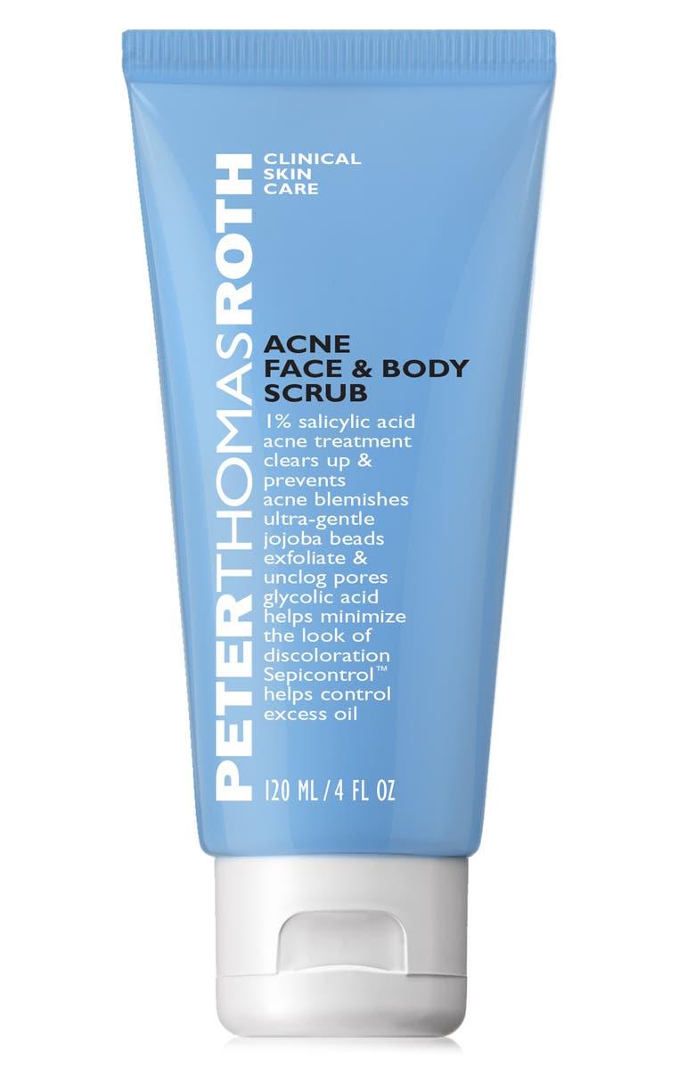 PETER THOMAS ROTH Acne Face & Body Scrub, Main, color, 000