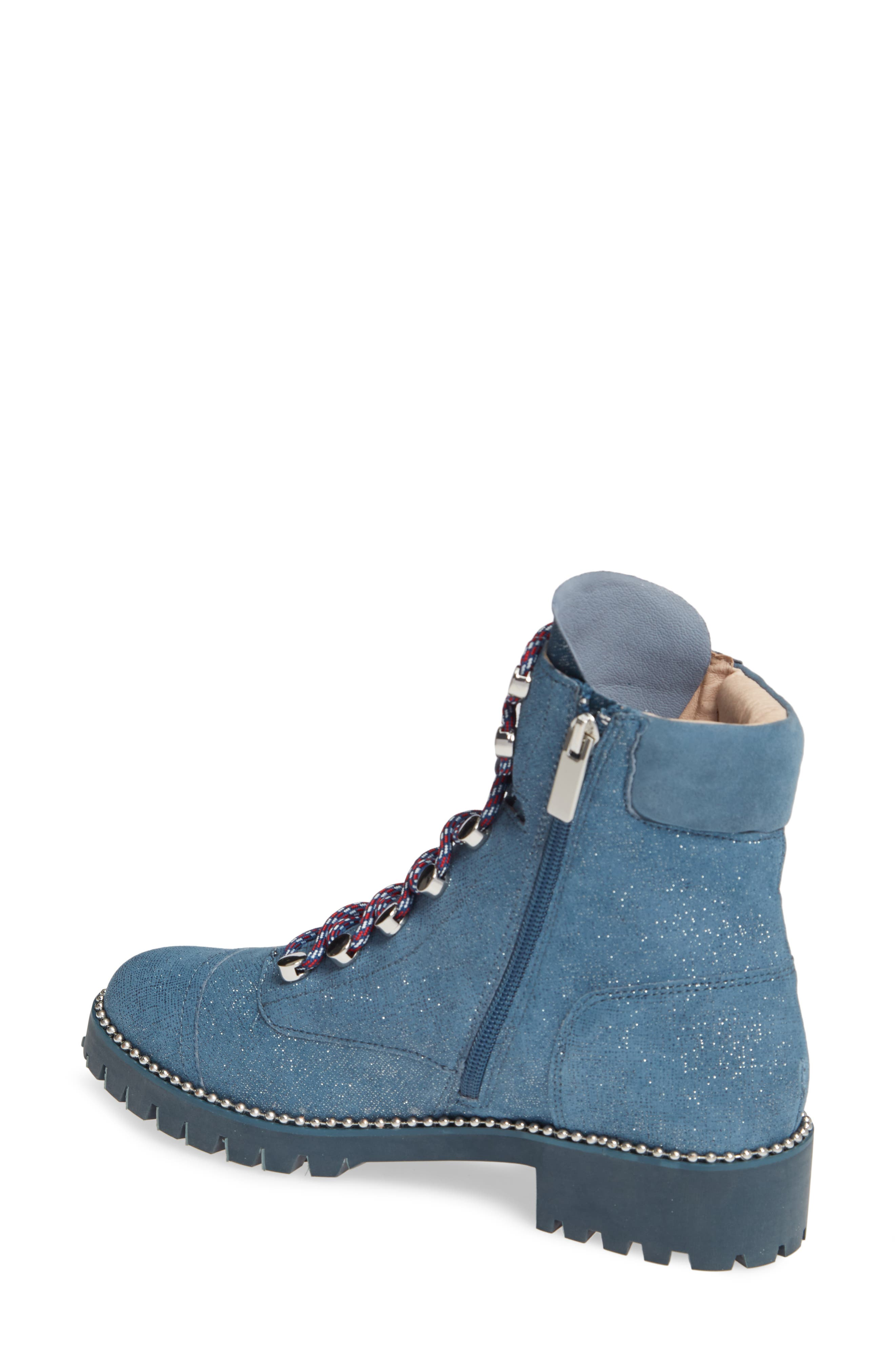 ,                             Trekker Boot,                             Alternate thumbnail 2, color,                             GLITTER DENIM