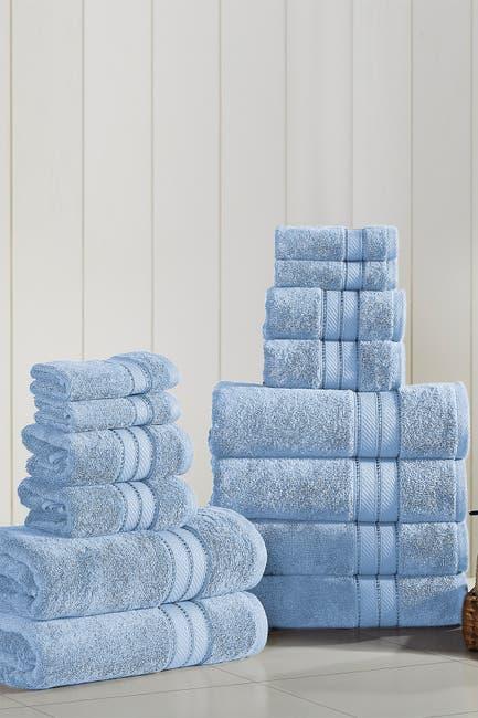 Image of Modern Threads SpunLoft 18-Piece Towel Set - Blue