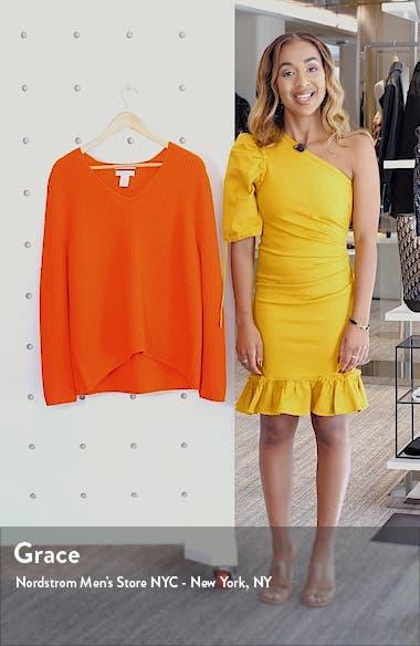 V-Neck Cashmere Sweater, sales video thumbnail
