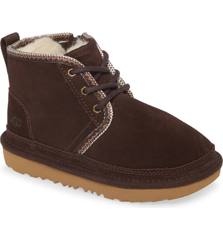 UGG<SUP>®</SUP> Neumel II Tasman Genuine Shearling Chukka Boot, Main, color, COFFEE BEAN