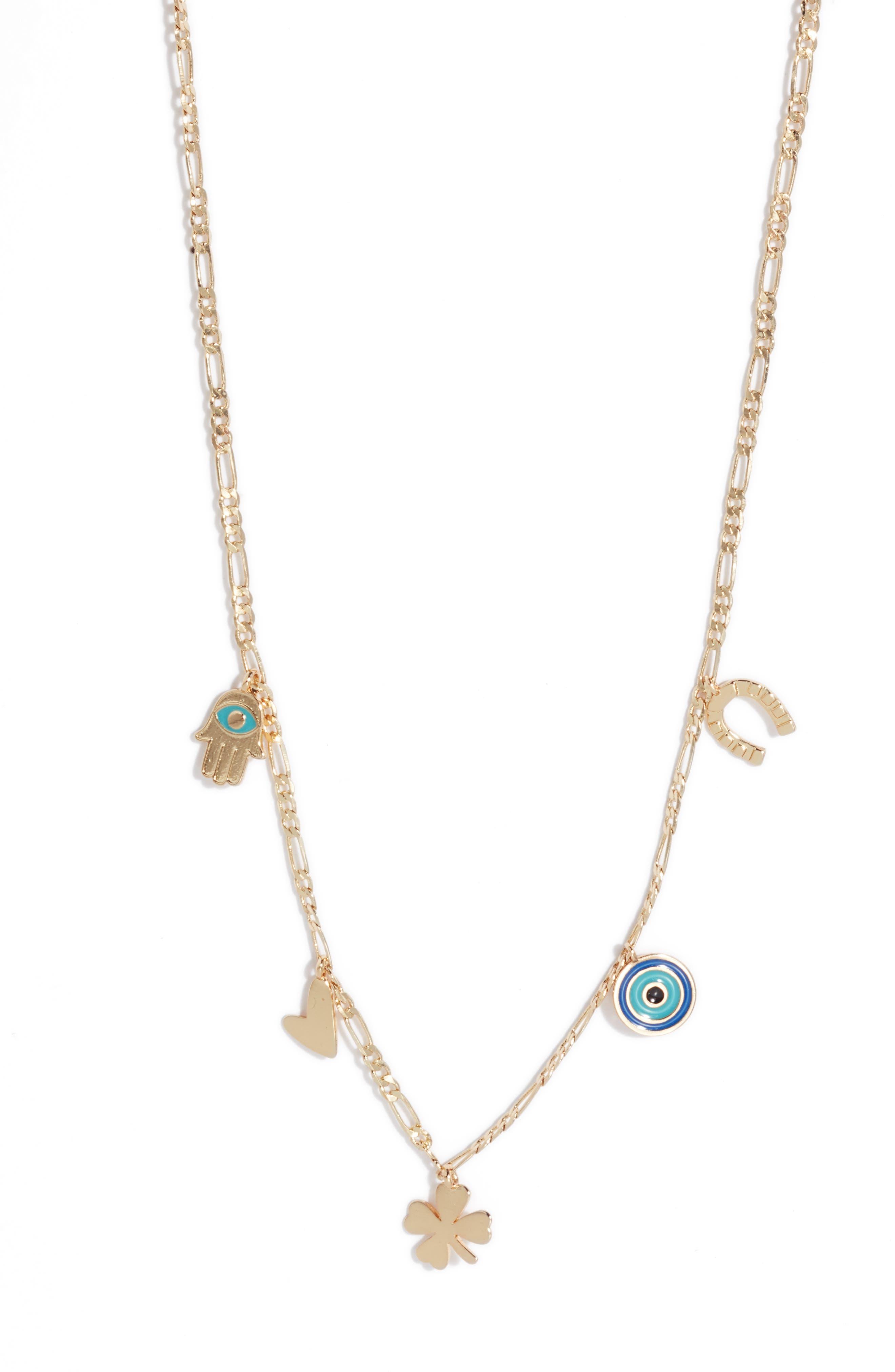 Fortuna Charm Necklace