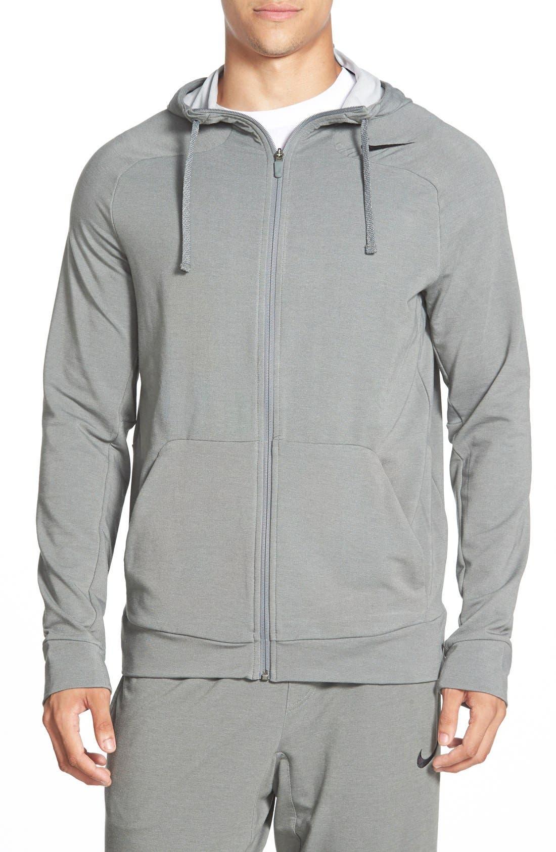 ,                             Dri-FIT Touch Fleece Full Zip Hoodie,                             Main thumbnail 6, color,                             037