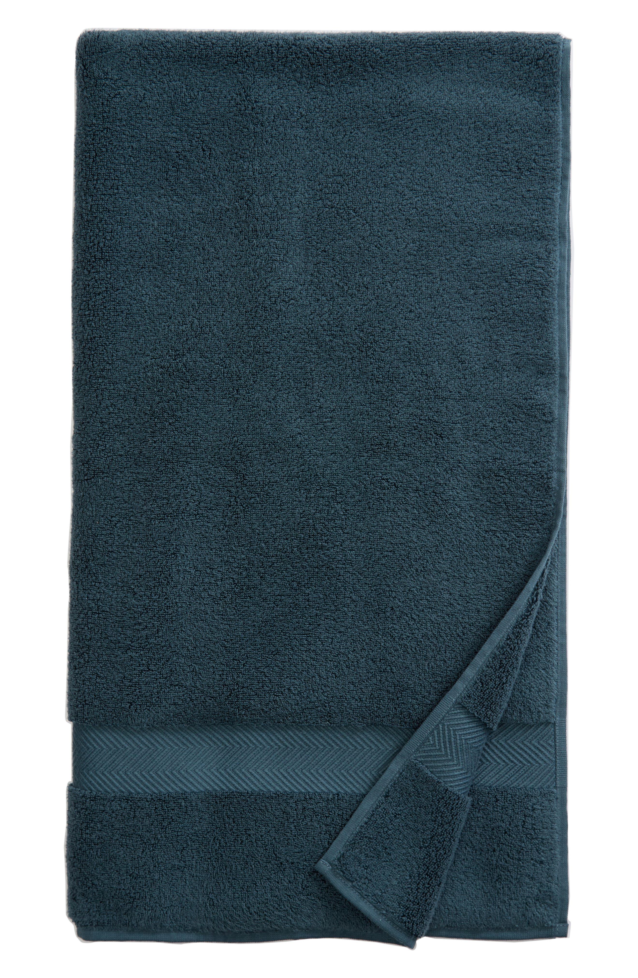 Hydrocotton Bath Towel, Main, color, TEAL GAZER