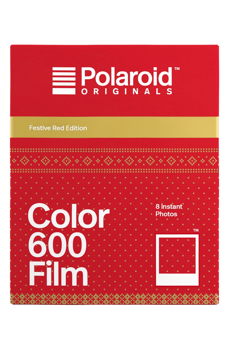POLAROID ORIGINALS 600 Festive Red Frame Instant Film, Main, color, 600