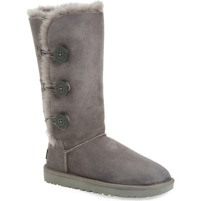UGG Bailey Button Triplet Ii Genuine Shearling Boot