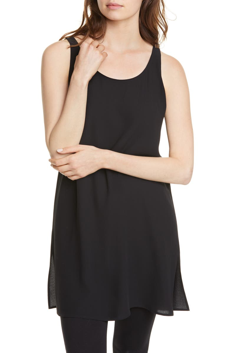 e783b9ff59e Eileen Fisher Sleeveless Silk Tunic | Nordstrom